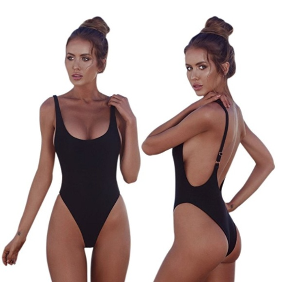 d8a821246010 QDASZZ Swim | Sexy High Cut Low Back One Piece Wear | Poshmark